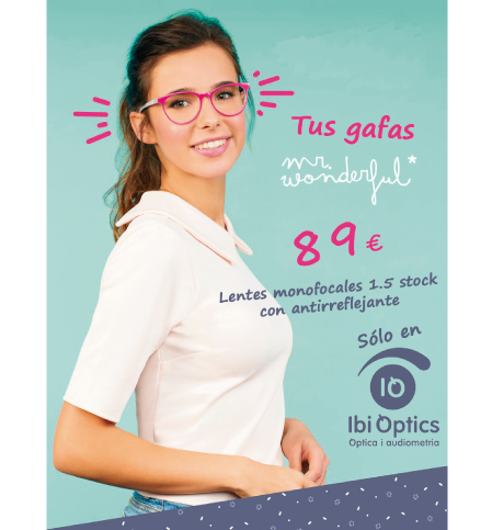 Oferta gafas Mr. Wonderful 89€ Ibi