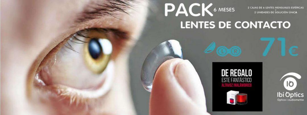 Oferta pack lentes Ibioptics